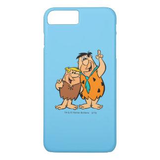 Het Puin en Fred Flintstone van Barney iPhone 7 Plus Hoesje