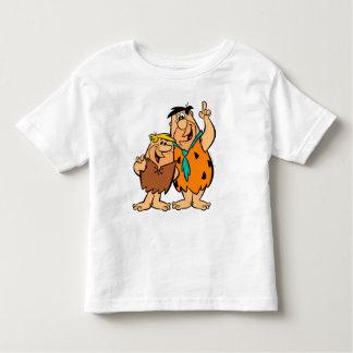 Het Puin en Fred Flintstone van Barney Kinder Shirts