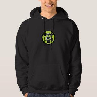 Het punk stinkdier radioactieve hoodie van Cyber