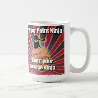 """Het Punt Ninja ® van de trekker """"knoopt"""" Uw Koffiemok"""