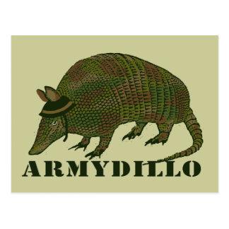 Het Punt van het Gordeldier van het leger Briefkaart