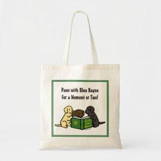 Het Puppy die van Labrador de Zak van het Boek Draagtas