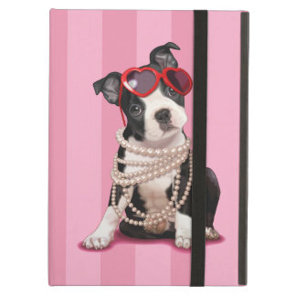 Het Puppy van Boston Terrier iPad Air Hoesje