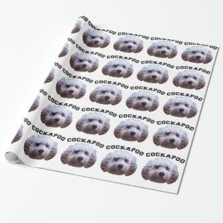 Het Puppy van Cockapoo Inpakpapier