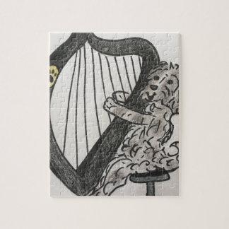 Het puppy van de harp legpuzzel