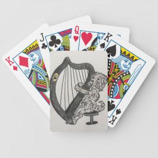 Het puppy van de harp pak kaarten