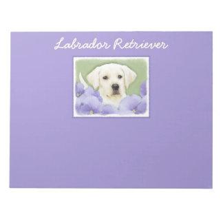 Het Puppy van de labrador Notitieblok