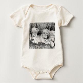 Het puppy van Dogue DE Bordeaux Baby Shirt