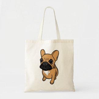 Het Puppy van Frenchie van Fawn Draagtas