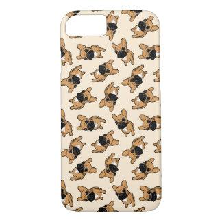 Het Puppy van Frenchie van Fawn iPhone 8/7 Hoesje