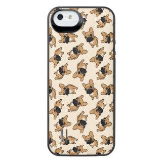 Het Puppy van Frenchie van Fawn iPhone SE/5/5s Batterij Hoesje