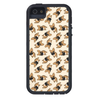 Het Puppy van Frenchie van Fawn Tough Xtreme iPhone 5 Hoesje