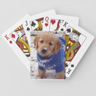 Het Puppy van het golden retriever Speelkaarten