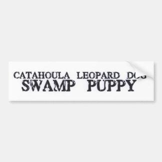 Het Puppy van het Moeras van Catahoula Bumpersticker