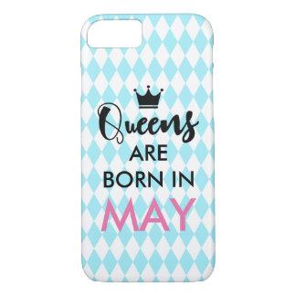 Het Queens is geboren binnen - de maand en de iPhone 8/7 Hoesje