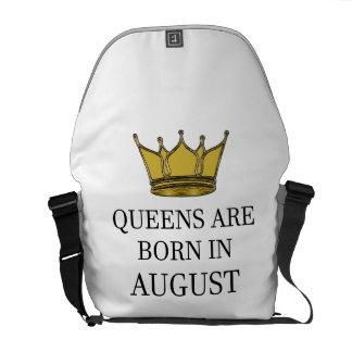 Het Queens is Geboren in Augustus Messenger Bags