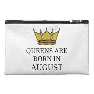 Het Queens is Geboren in Augustus Reis Accessoire Tasje