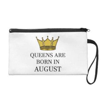 Het Queens is Geboren in Augustus Wristlet