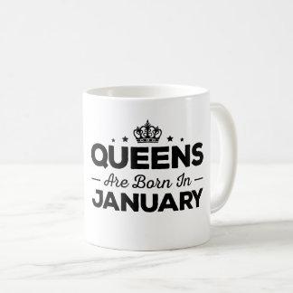 Het Queens is Geboren in Januari Koffiemok