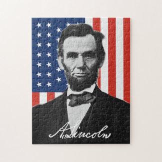 Het Raadsel van Abraham Lincoln Puzzel