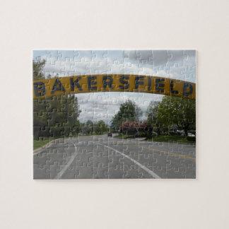 Het Raadsel van Bakersfield CA Puzzel