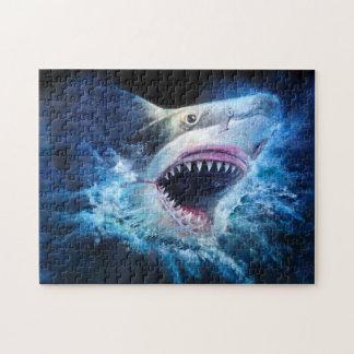 Het Raadsel van de Aanval van de haai Puzzel