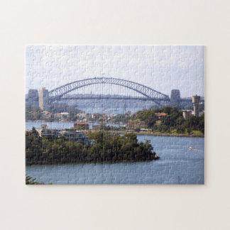 Het Raadsel van de Brug van de Haven van Sydney Puzzel