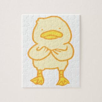 Het Raadsel van de Foto van Ducky 8x10 met de Doos Puzzel