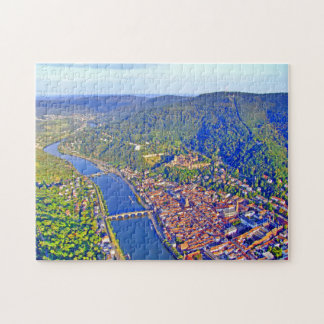 Het Raadsel van de Foto van Heidelberg met de Doos Foto Puzzels