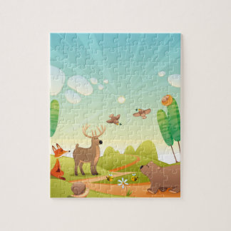 Het Raadsel van de Foto van kinderen 8x10 met de Puzzels