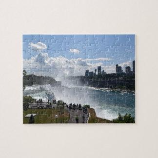 Het Raadsel van de Herfsten van Niagara Puzzel