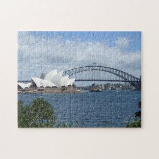 Het Raadsel van de Horizon van de Haven van Sydney Puzzel