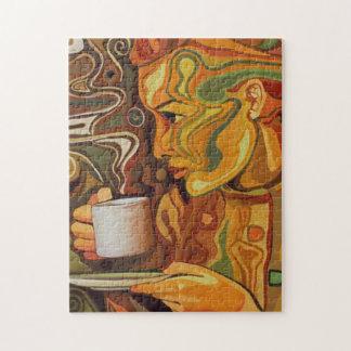 Het Raadsel van de koffie of van de Thee Puzzel