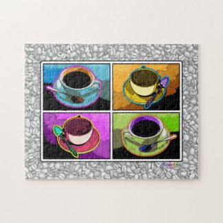 Het Raadsel van de Koppen van de Koffie van het po Puzzel