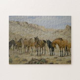 Het Raadsel van de Kudde van het paard Puzzel