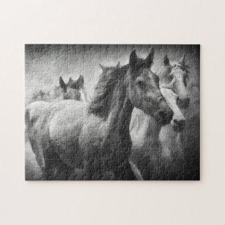 Het Raadsel van de Stormloop van het paard Legpuzzel