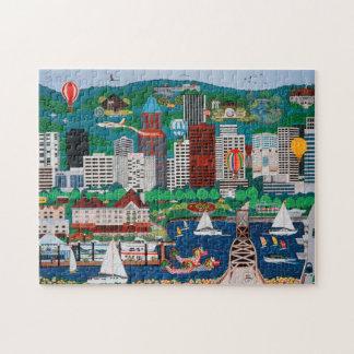 Het Raadsel van de Waterkant van Portland Legpuzzel