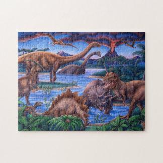 Het Raadsel van dinosaurussen Puzzel