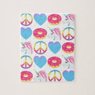 Het Raadsel van Emoji - Vrede, Liefde, Eenhoorns, Puzzel