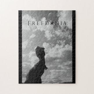 Het Raadsel van Freedonia - Dinosaurus Legpuzzel
