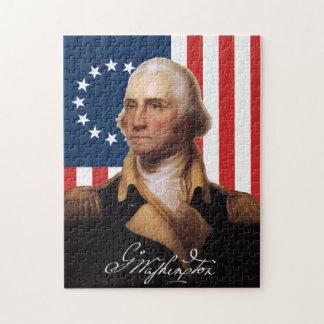 Het Raadsel van George Washington Puzzel