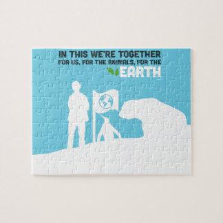 Het Raadsel van het Behoud van de aarde Foto Puzzels