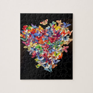 Het Raadsel van het Hart van de vlinder Puzzel