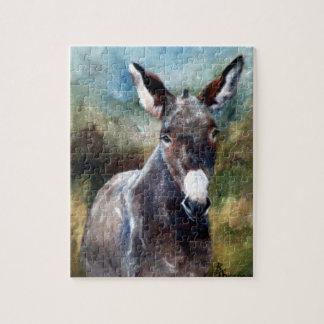 Het Raadsel van het Portret van de ezel Puzzel