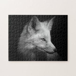 Het Raadsel van het Portret van de vos Puzzel