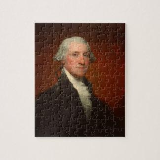 Het Raadsel van het Portret van George Washington Puzzel
