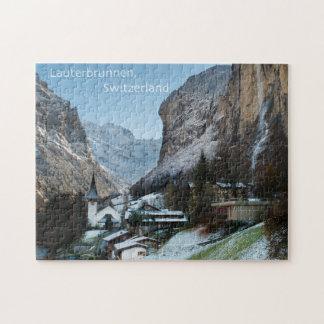 Het Raadsel van Lauterbrunnen met de Doos van de Puzzel