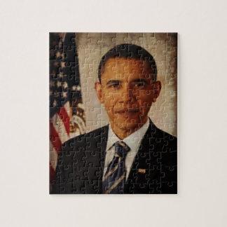 Het Raadsel van Obama van het president Legpuzzel