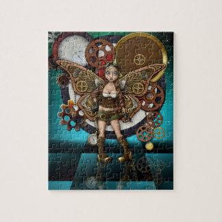 Het Raadsel van Steampunk met de Doos van de Gift Foto Puzzels