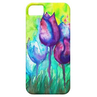Het Raadsel van tulpen Barely There iPhone 5 Hoesje